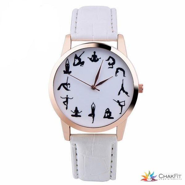 YOGA Pose Wrist Watch - ChakFit Yoga Products