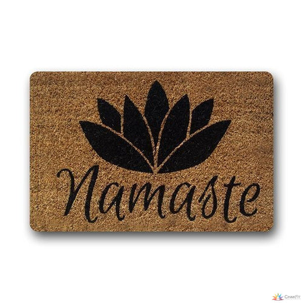 Namaste Doormat - ChakFit Yoga Products