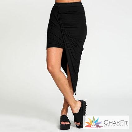 Chakfit Cross Wrap skirt - ChakFit Yoga Products