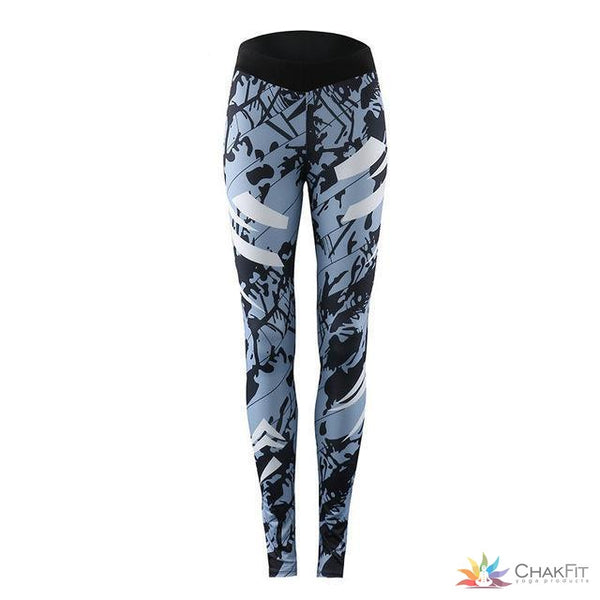 CHRLEISURE Push Up Leggings Women 2018 Polyester Ankle-length Keep Slim Legins Breathable Printing Fitness Legging Female - ChakFit Yoga Products