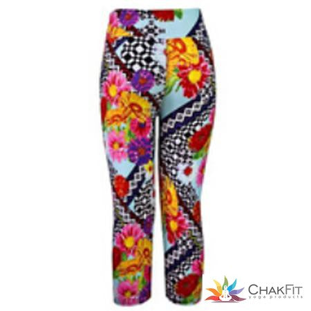 Chakfit Capris Leggings - ChakFit Yoga Products