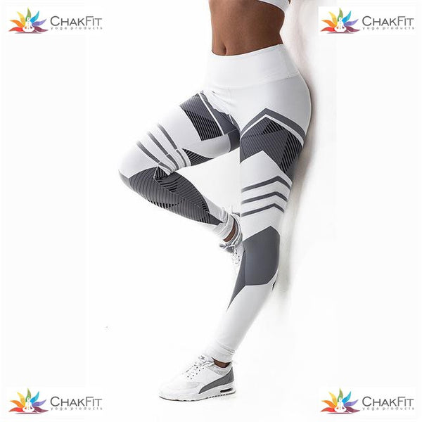 Chakfit 3D Print Leggings - ChakFit Yoga Products