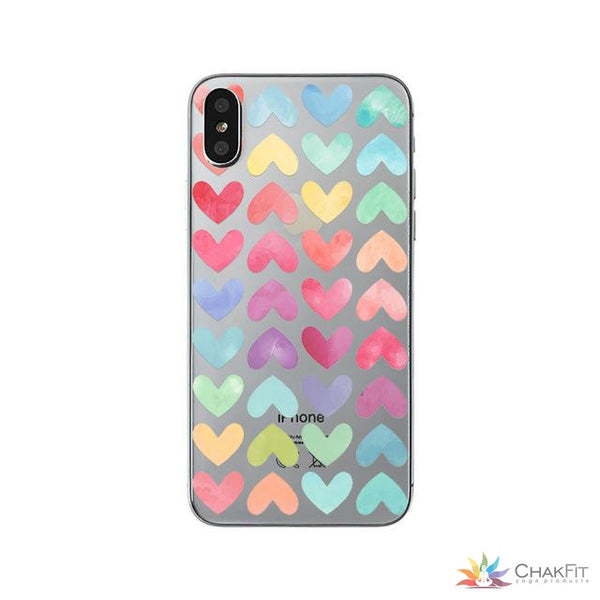 Soft Phone Case For iPhoneX 6 6s 7 8 Plus - ChakFit Yoga Products