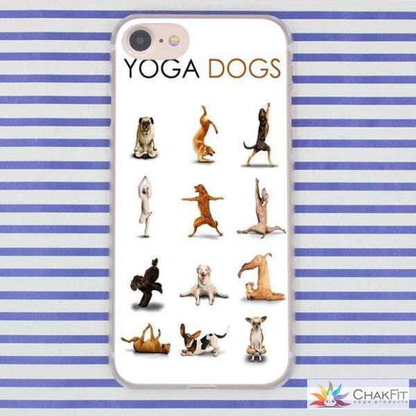Hard  Shell Phone Case for Apple iPhone 8 7 6 6S Plus X 10 - ChakFit Yoga Products