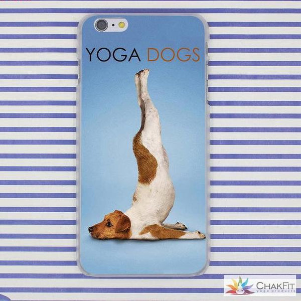 iPhone Case for Apple iPhone | Hard  Shell | 8 7 6 6S Plus X 10 - ChakFit Yoga Products