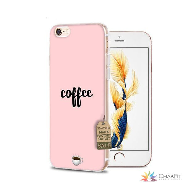 iphone 7 6 silicone Phone Case (For iphone 7 X 6 6s 6 Plus 6splus 8 8plus) - ChakFit Yoga Products