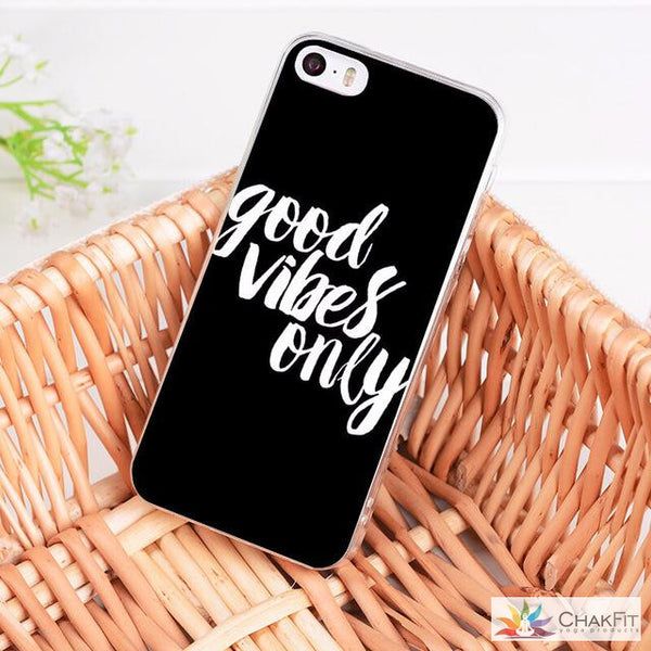 Good Vibes iPhone Case - ChakFit Yoga Products