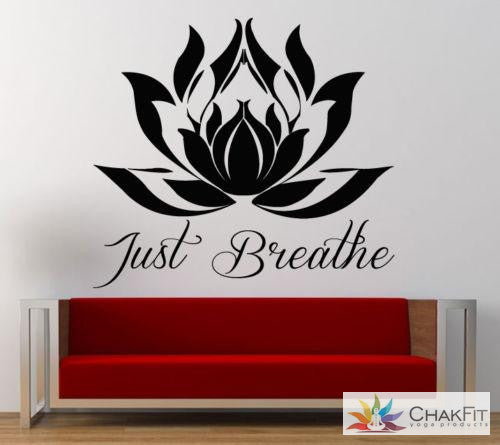 Chakfit Lotus Flower Wall Sticker - ChakFit Yoga Products