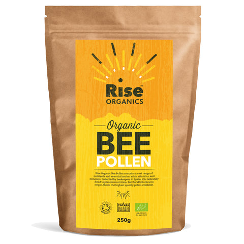 Organic Bee Pollen - Highest Quality Spanish Polifloral variety 250g
