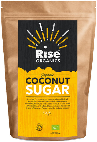 Rise Organic Coconut Sugar 500g | Natural alternative sweetener