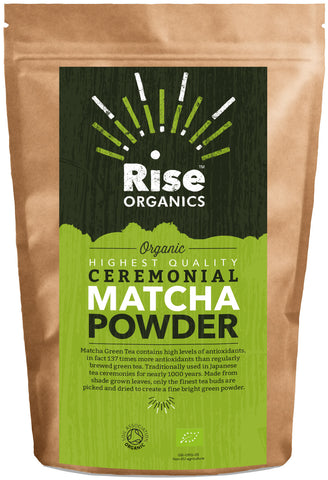 Rise Organic Matcha Green Tea Powder 100g