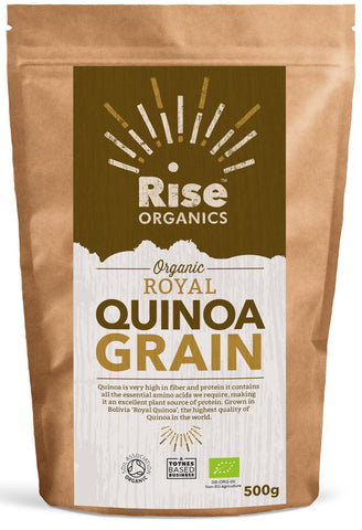 Rise Organic Royal Quinoa Grain 500g