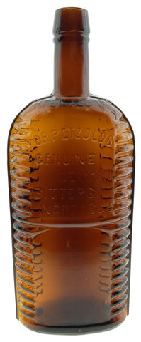 DR. PETZOLD'S GENUINE GERMAN BITTERS INCET 1882/PATENTED 1884