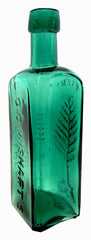 L.Q.C. WISHART'S PINE TREE TAR CORDIAL PHILa TRADE MARK with embossed tree