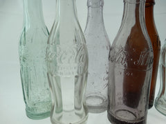 GROUP OF 7 COKE AND PEPSI ETC.