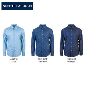 North Harbour Virgil Cotton Denim Shirt - abrandz