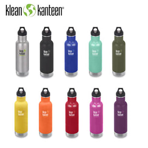 Klean Kanteen Insulated Stainless Steel Classic Bottle with Loop Cap