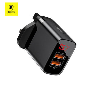 Baseus 18W Fast Charger with Digital Display