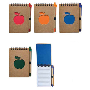 Eco Friendly Mini Notepad with Pen