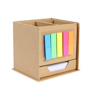 Eco Memopad holder with post it note