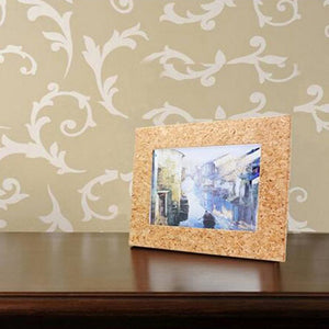 Eco-friendly Cork Wooden Photo Frame