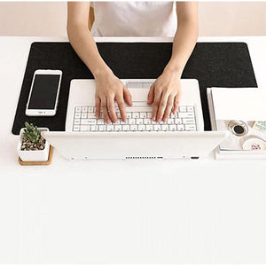 Felt Desktop Keyboard and Mouse Pad