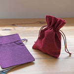Eco Friendly Jute Accessories Pouch - AbrandZ Corporate Gifts Singapore