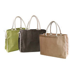 Eco Friendly Trendy Jute String Tote Bab - AbrandZ Corporate Gifts Singapore