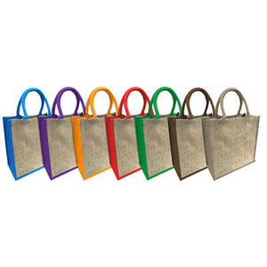 Eco Friendly A4 Jute Tote Bag - abrandz