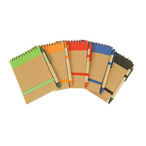 Eco Wire-O Notebook and Pen | AbrandZ Corporate Gifts Singapore