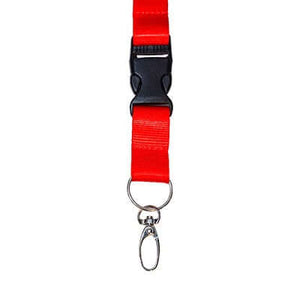 20mm Nylon Lanyard with safety breakaway and buckle