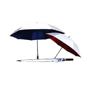 30″ Golf Manual Open Umbrella with UV coating - abrandz