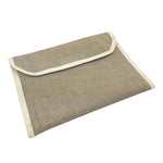 Eco Friendly A4 Jute Document Folder - AbrandZ Corporate Gifts Singapore