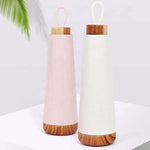 17oz Insulated Bottle with Wooden Lid