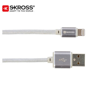SKROSS Lightning Connector Cable - Steel Line - abrandz