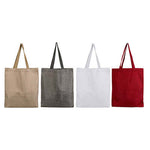 Eco Soft Jute Tote Bag - AbrandZ Corporate Gifts Singapore