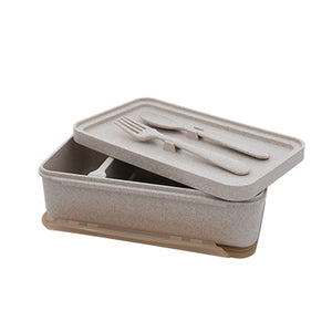 Eco Friendly Wheat Straw Lunch Box | AbrandZ Corporate Gifts Singapore
