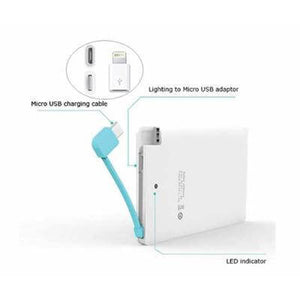 2 in 1 Slim Powerbank | portable charger, powerbank | electronics | AbrandZ: Corporate Gifts Singapore