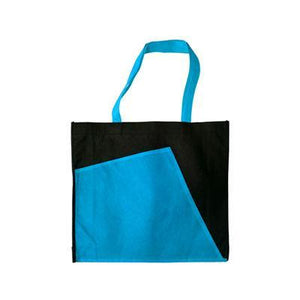 2-Tone Eco Bag (Black) | Corporate Gifts Singapore