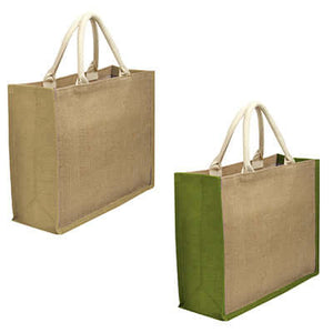 Eco Friendly A3 Jute Tote Bag - abrandz