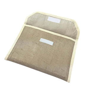 Eco Friendly A4 Jute Document Folder | AbrandZ Corporate Gifts Singapore
