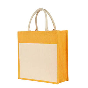 Eco Friendly Canvas Jute Tote Bag