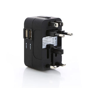 Dual USB Port Travel Adapter
