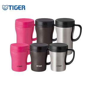 Tiger Stainless Steel Mug with Tea Strainer CWN-A