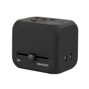4 plugs Universal Travel Adaptor - abrandz