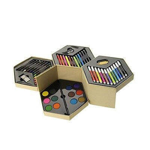 52-Piece Colouring Pencil Set - abrandz
