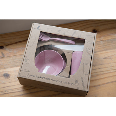 Eco Friendly Wheat Straw Cutlery Gift Set