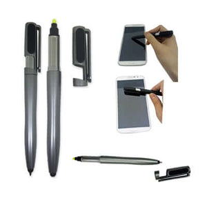 5 in 1 Multi Function Ball Pen - abrandz