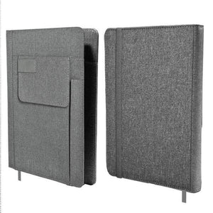A5 Notebook With Front Pocket And Pen Slot | Premium Notebooks | desk | AbrandZ: Corporate Gifts Singapore