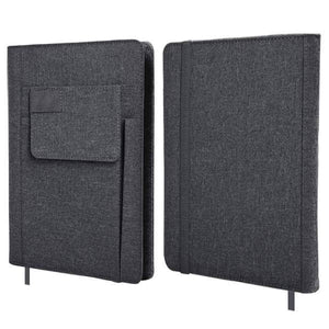 A5 Notebook With Front Pocket And Pen Slot | AbrandZ Corporate Gifts Singapore